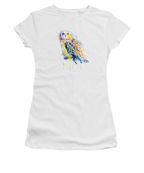 Short Eared Owl  Women's T-Shirt