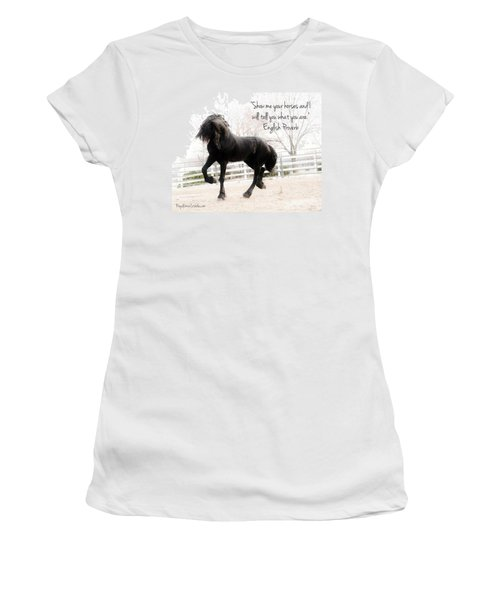 Show Me Your Horse Women's T-Shirt