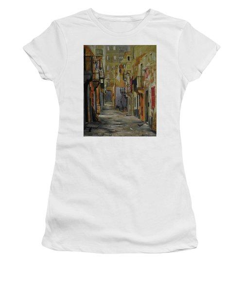 Si Esta. Women's T-Shirt (Athletic Fit)