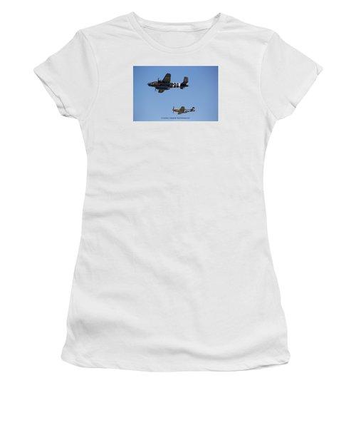 Side By Side Women's T-Shirt (Junior Cut)