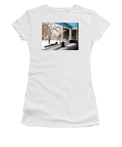 Side Porch Women's T-Shirt (Athletic Fit)