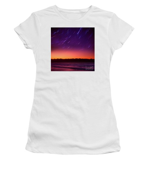 Women's T-Shirt (Junior Cut) featuring the photograph Silent Time by Tatsuya Atarashi