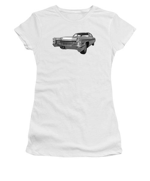 Silver Cadillac 1966 Women's T-Shirt