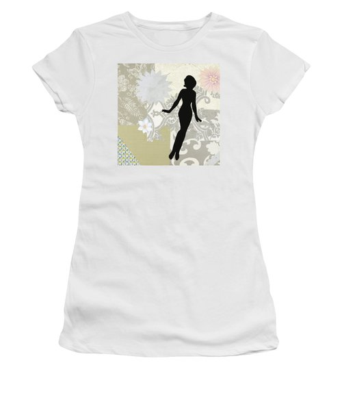 Silver Paper Doll Women's T-Shirt (Athletic Fit)
