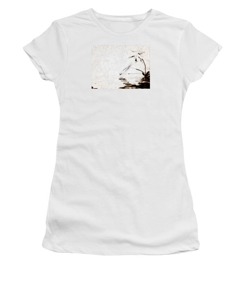 Simple Reflections Women's T-Shirt (Junior Cut) by Mario Carini