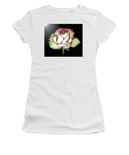 Single Beautiful Rose Women's T-Shirt