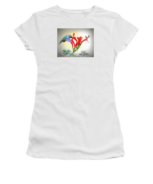 Sipping The Nectar Women's T-Shirt (Athletic Fit)
