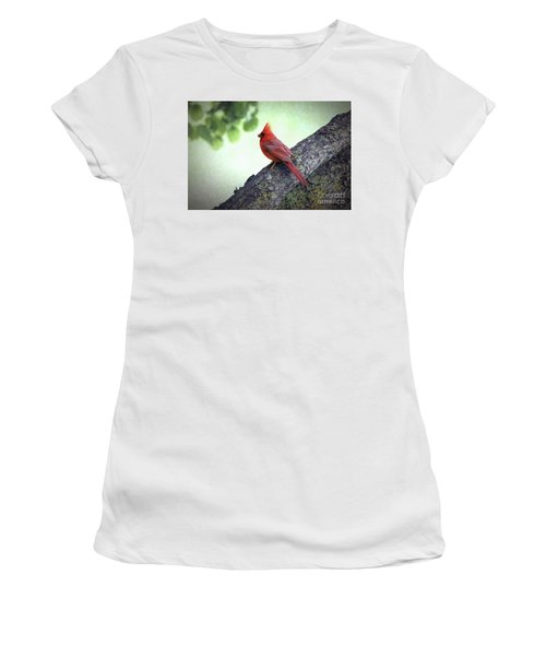 Sir Cardinal Women's T-Shirt (Athletic Fit)