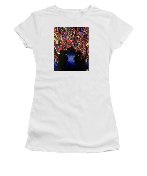 Sis The Twins Women's T-Shirt (Athletic Fit)
