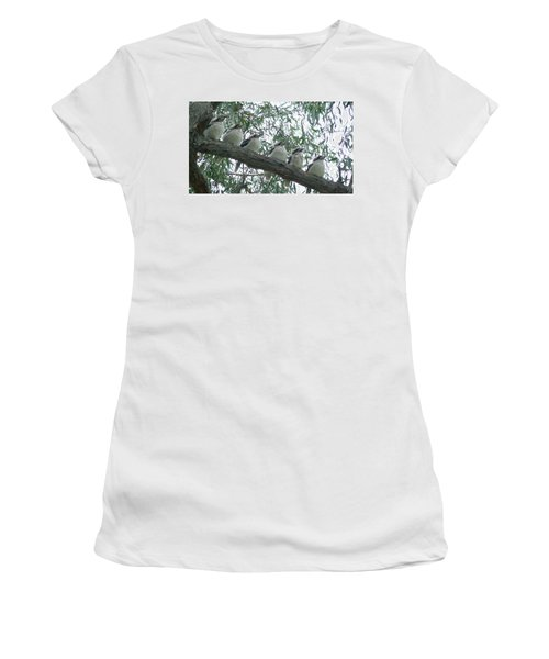 Six In A Row Women's T-Shirt (Junior Cut) by Evelyn Tambour
