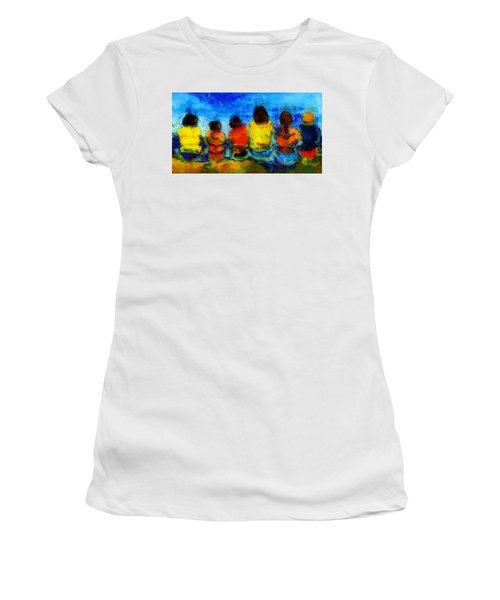 Six On The Shore  Women's T-Shirt (Athletic Fit)
