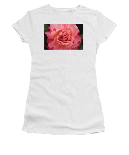 Skc 4942 The Pink Harmony Women's T-Shirt (Junior Cut) by Sunil Kapadia