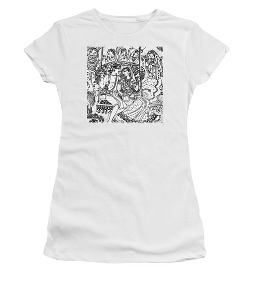 #sketch #drawing #india #lovers Women's T-Shirt