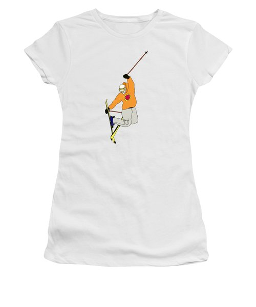 Ski Jumping Women's T-Shirt