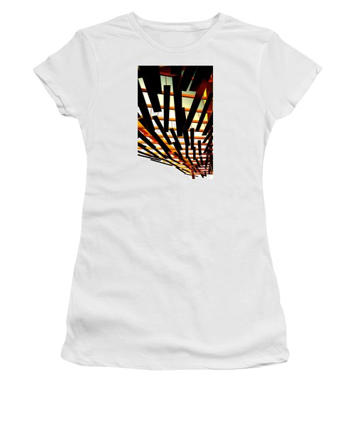 Sky Chasm Women's T-Shirt (Athletic Fit)