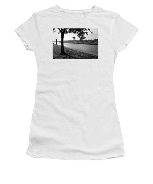 Skyline Maastricht Women's T-Shirt (Junior Cut) by Nop Briex