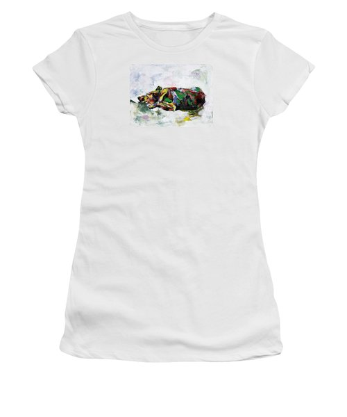 Sleeping Dog_2 Women's T-Shirt