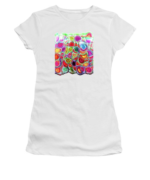 Slipping And Sliding Women's T-Shirt (Athletic Fit)