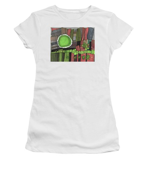 Sun Gone Green Women's T-Shirt (Athletic Fit)
