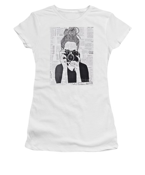 Smile Women's T-Shirt (Athletic Fit)