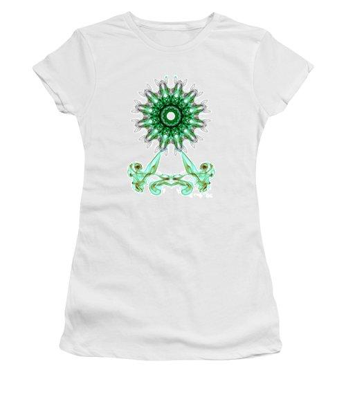 Smoke Wheel Women's T-Shirt (Athletic Fit)