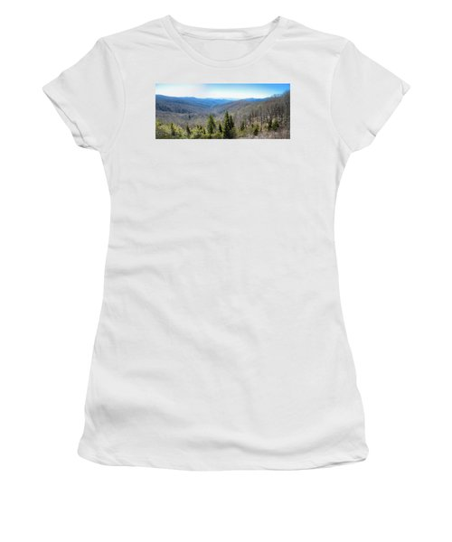 Smokey Mountains Pan Women's T-Shirt (Athletic Fit)