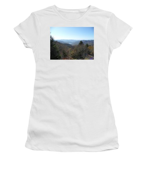 Smokies 16 Women's T-Shirt (Junior Cut) by Val Oconnor