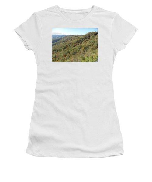 Smokies 19 Women's T-Shirt (Junior Cut) by Val Oconnor