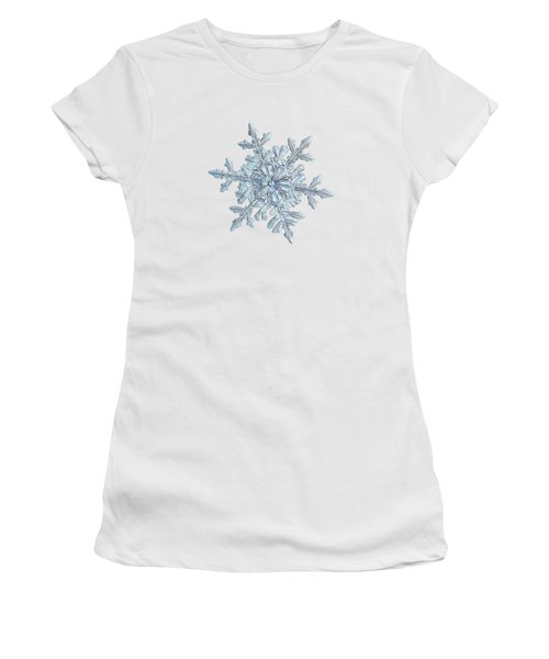 Snowflake 2018-02-21 N1 White Women's T-Shirt