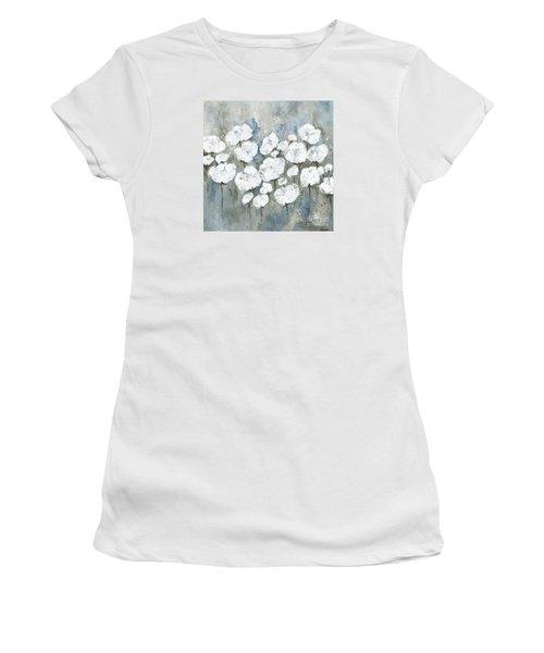 Snowy Mississippi Summer Women's T-Shirt (Junior Cut) by Kirsten Reed