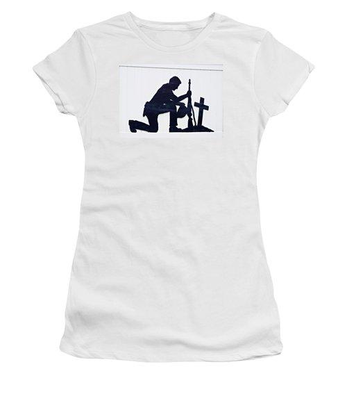 So Sad Women's T-Shirt (Athletic Fit)