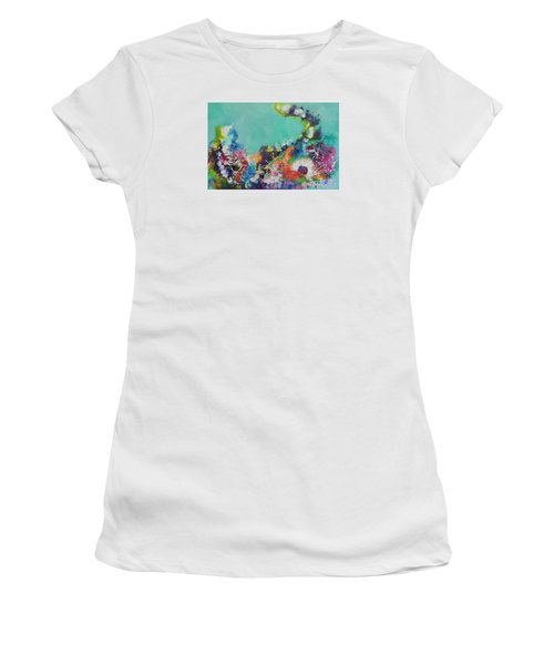 Soft And Hard Corals Women's T-Shirt (Athletic Fit)