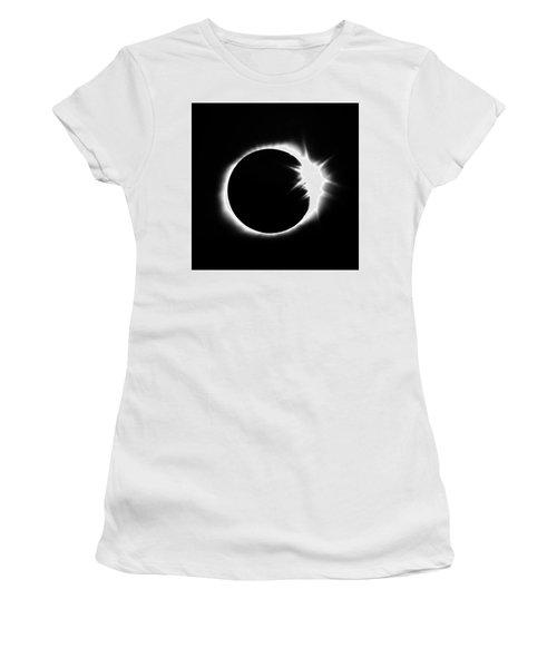 Solar Eclipse Women's T-Shirt (Athletic Fit)