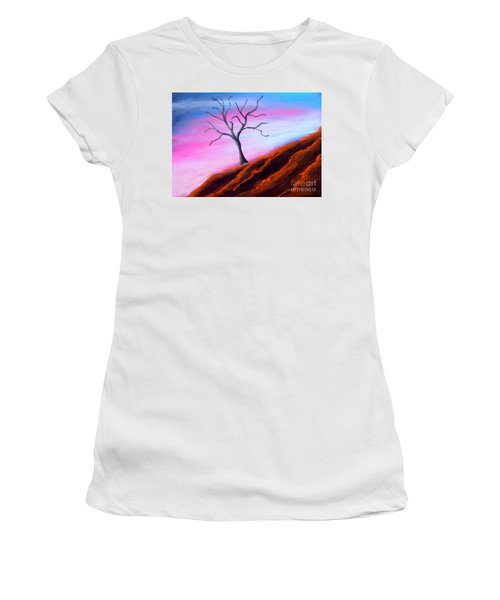 Solitary Women's T-Shirt (Athletic Fit)