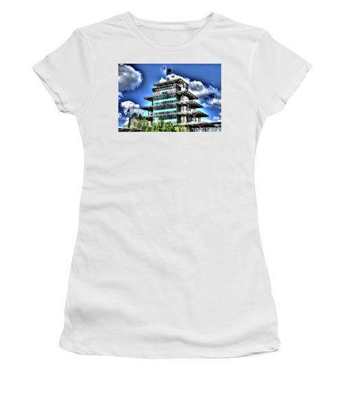 Some Cloudy Day Women's T-Shirt (Junior Cut) by Josh Williams