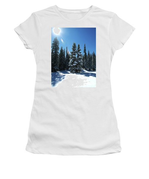 Some Where In Colorado Women's T-Shirt (Athletic Fit)