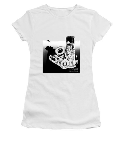 Someone Had To Do Something, And Quick Women's T-Shirt (Athletic Fit)