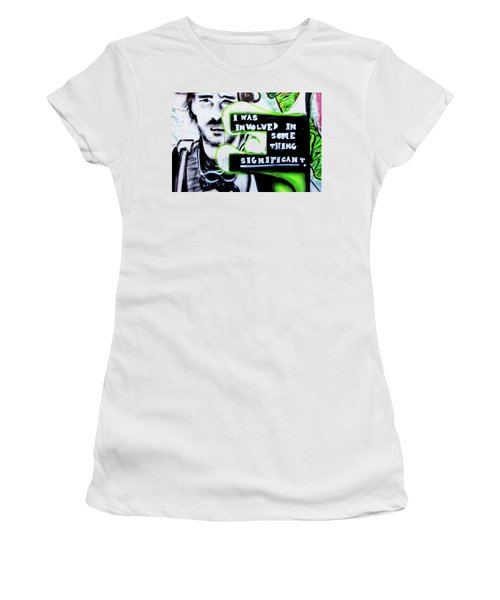 Women's T-Shirt (Junior Cut) featuring the photograph Something Significant by Art Block Collections