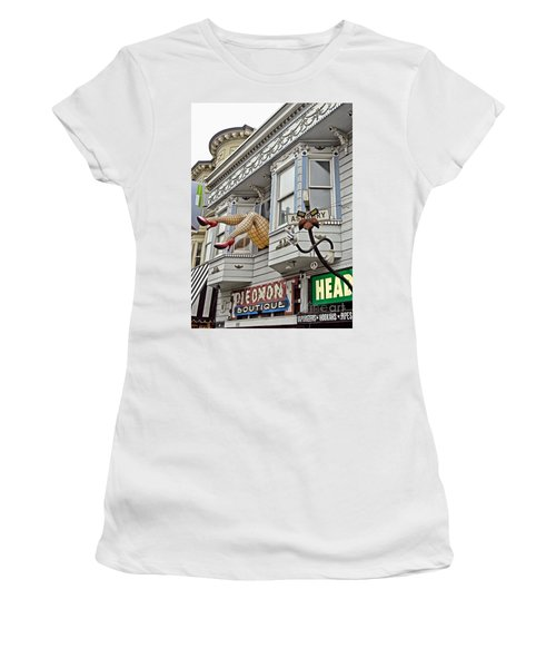 Something To Find Only The In The Haight Ashbury Women's T-Shirt (Athletic Fit)