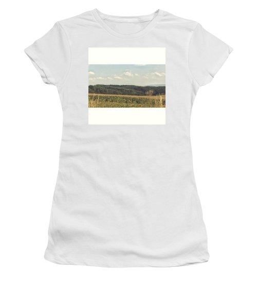 #sonnenblumenfeld #felder #sommer2015 Women's T-Shirt