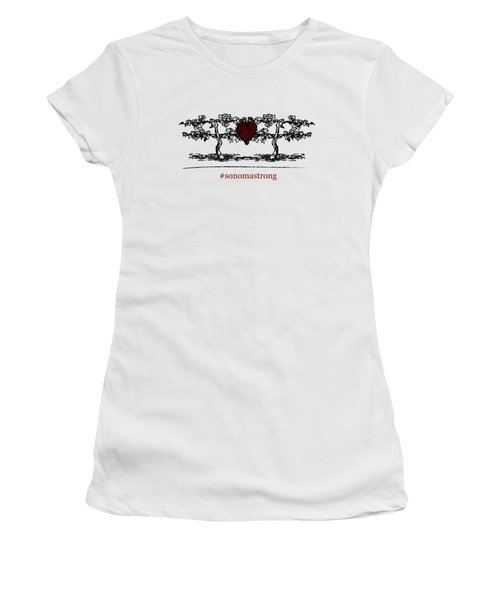Sonoma Strong Women's T-Shirt