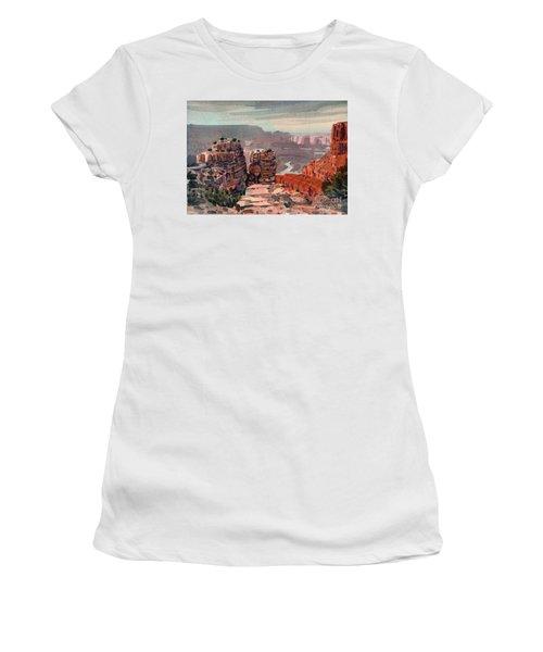 South Rim Women's T-Shirt (Junior Cut) by Donald Maier