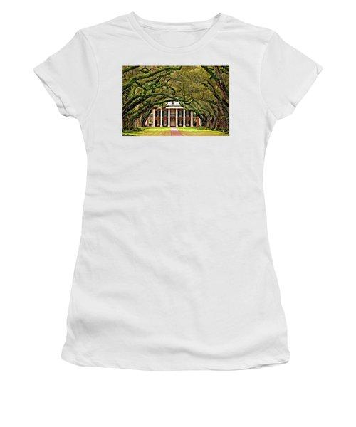 Southern Class Painted Women's T-Shirt