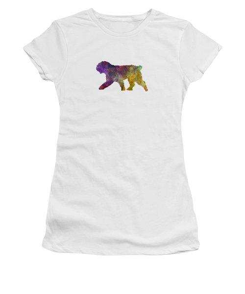 Spanish Water Dog In Watercolor Women's T-Shirt
