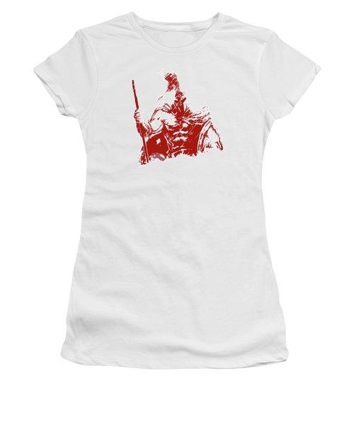 Spartan Warrior - Battleborn Women's T-Shirt