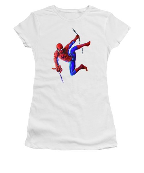 Spiderman Women's T-Shirt (Athletic Fit)