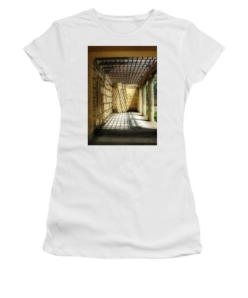 Spider's Den Women's T-Shirt (Athletic Fit)
