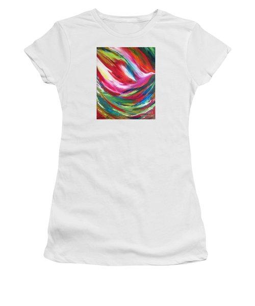 Spirit Takes Flight Women's T-Shirt (Athletic Fit)