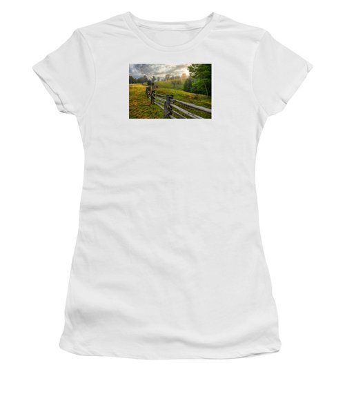 Splash Of Morning Light Women's T-Shirt (Junior Cut) by Dan Carmichael