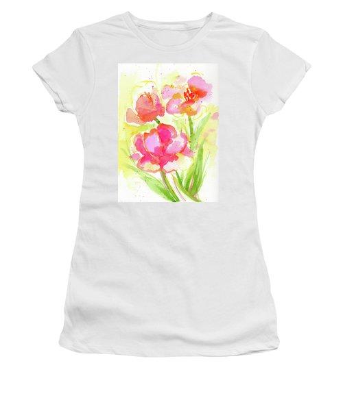 Splash Of Pinks  Women's T-Shirt
